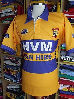 MINT Rugby League Shirt Ideal Hull Isberg ARLFC (L) ISC Jersey Maillot Maglia