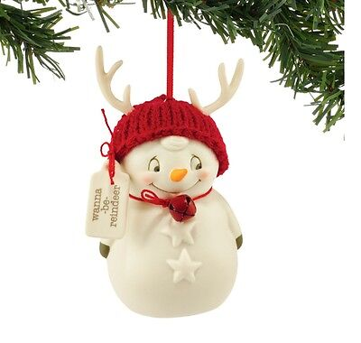 Snowpinions Wanna-Be Reindeer Ornament Brand New