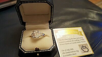 Replica of camilla parker bowles engagement ring