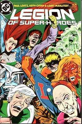 Legion of Super-Heroes (1984 series) #2 in Near Mint + condition