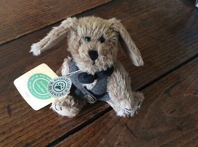 "Boyds Bears Plush Dog ""Indy"" Style #91757-12 with tags"
