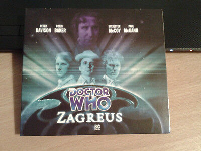 Dr Doctor Who Audio CD - Zagreus Big Finish 2003 - 40th Anniversary McGann