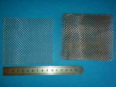 5 pads 10cm x 10cm Aquarium Plant Moss Stainless Steel Wire Mesh Java Moss