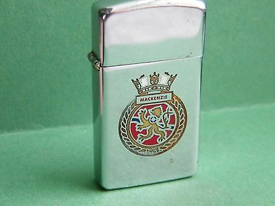 Zippo 1978 Slim Hmcs Mackenzie Royal Canadian Navy Destroyer Dde-231