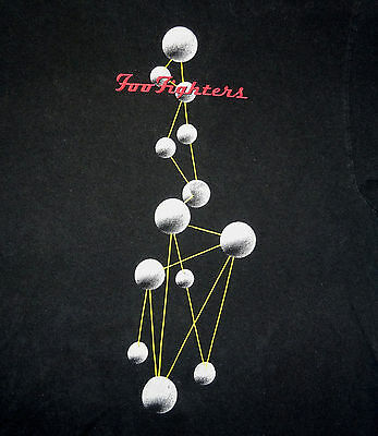 1997-98 Foo Fighters T-Shirt Tee The Colour and the Shape Size XL