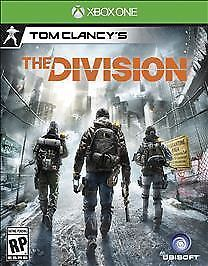 Tom Clancy's The Division Microsoft Xbox One BRAND NEW SEALED