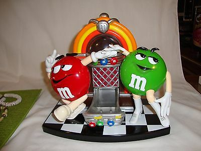M&m Candy Dispenser Juke Box Perfect Condition