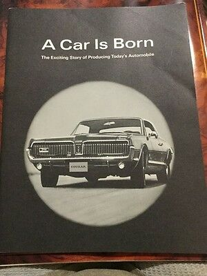 Vintage A Car is Born Ford Mercury Production Information from 1967