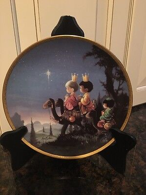 Precious Moments Collectible Plate 'They Followed The Star'