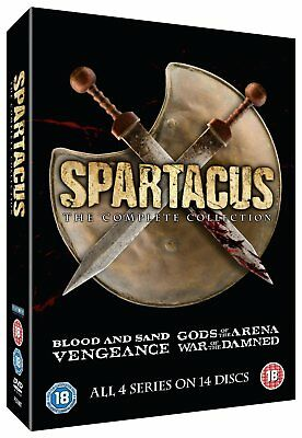 SPARTACUS The Complete Collection DVD Slim Edition NEW Region 2