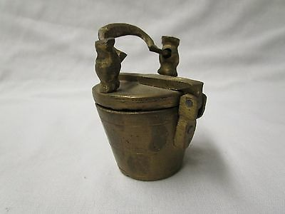 Vintage Brass Nesting Apothecary Weight Set
