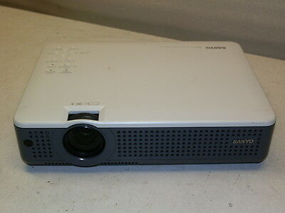 Sanyo PLC-XU78 XGA 3 LCD 3000 Lumens  Multimedia Home Theater Projector