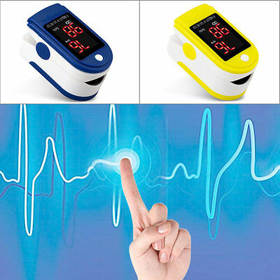 Portable MiniFingertip Pulse Oximeter Blood Oxygen Saturation Heart Rate Monitor