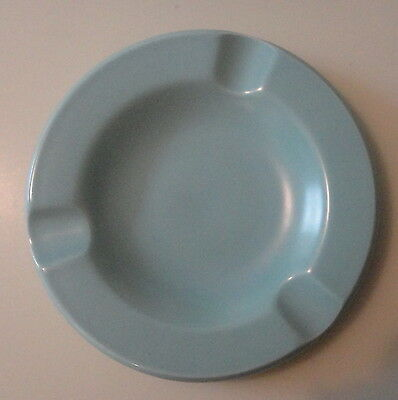 Poole pottery ashtray or spoon rest. 60s. ice green colour