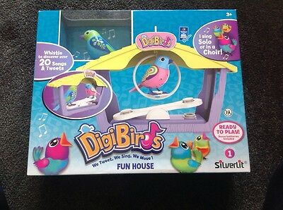 Digi Birds Fun House Brand NEW! In Box RRP $29.99 Unwanted Gift Present