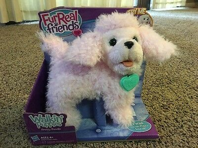 FurReal Friends Pink Pretty Poodle Walkin Puppies New In Package