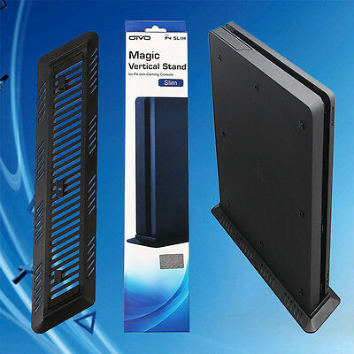 Vertical Stand Cooling Dock Cradle Mount for Sony PlayStation 4 PS4 Slim Console
