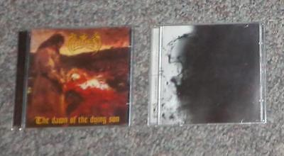 Hades Almighty lot of 2 cds Dawn of the dying sun & Pulse of decay black metal