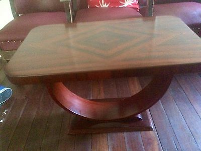 U Shaped Art Deco Style  Coffee Table Made In Sydney 1950's *Make An offer*.