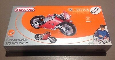 Meccano Set Motorcycle NEW Bike 3710