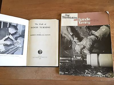 Woodturning Woodworking Books x2 - 1957 & 1992