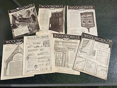 1948 WOODWORKER Magazines - 7 Issues