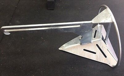 SARCA Anchor No Size 2  Galvanised - 6kg. 4-6.5m Boat (NEW - Never Used)