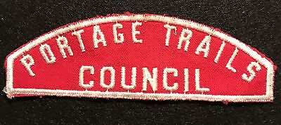 Portage Trails Council - Rws - Red & White Strip