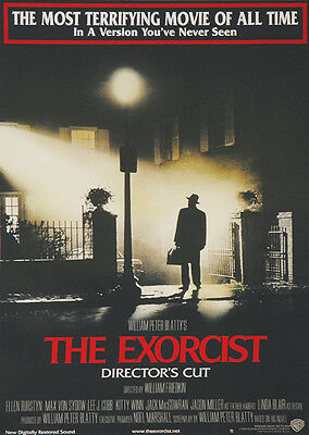 The Exorcist - Classic Horror Poster - Linda Blair