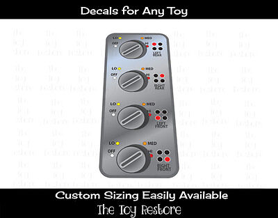 Stove top burner Dials Stainless Kitchen Replacement Decal Sticker Stovetop Knob