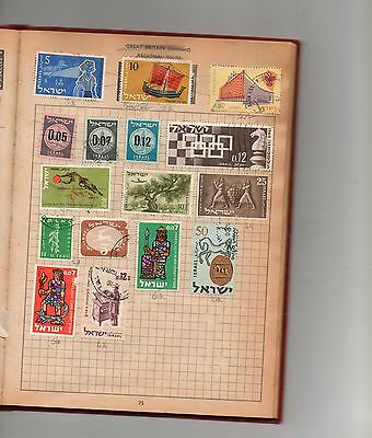 Israel stamps page (2)- see scan