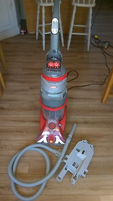 vax v dual carpet cleaner with upholstry attachment