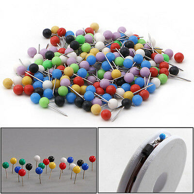 Multi-Color Fishing Pin for Fasten Fishing Line Winder Reel Spool Tackle 100pcs