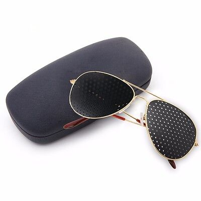 Hot Anti-fatigue Pinhole Glasses Stenopeic Glasses Vision Improver Eyesight Care