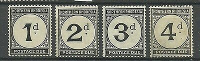 Northern Rhodesia - Postage dues - SG D1/4 - LMM