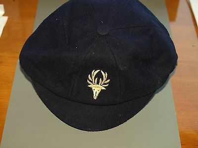 Vintage Eastbourne College cap with stag bade 7 1/4 1930's