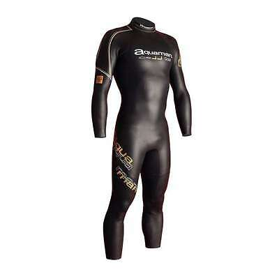 NEW Aquaman Triathlon Ironman Wetsuit Cell Gold various sizes