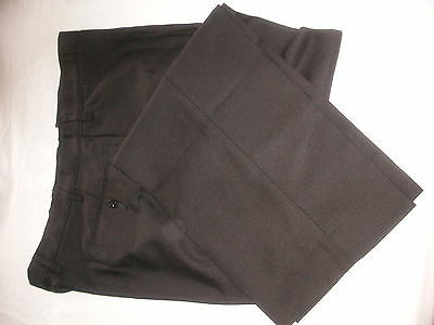 Ex PoliceTROUSERS size 42 Regular, Black, vgc