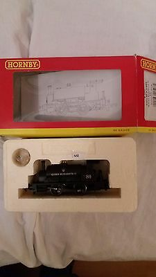 hornby r2597 0-4-0 saddle tank hornby collector club queen Elizabeth '80' with d