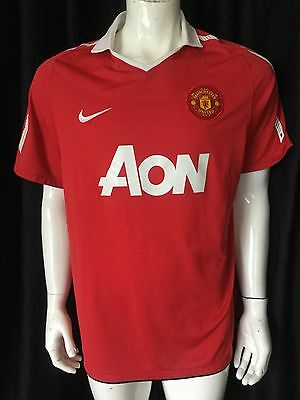 Manchester United Epl English Soccer Mens Nike Jersey Size Xl