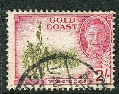 GOLD COAST;  1948 early GVI issue used 2s. value