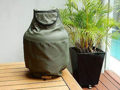 Gas Bags. Green 9kg Gas Bottle Covers.