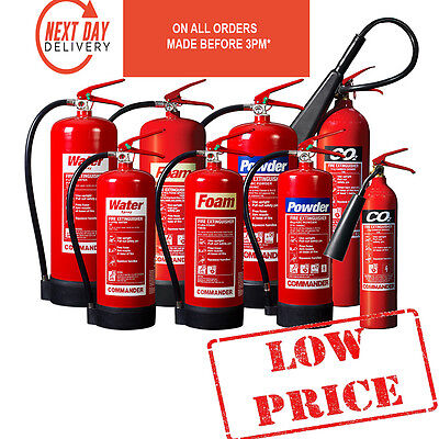 Fire Extinguisher - CO2 / Dry Powder / Foam / Water / Wet Chemical / Fire Blanke