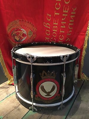 Vintage Super Tone Buffalo Military Marching Drum Air Training Corps