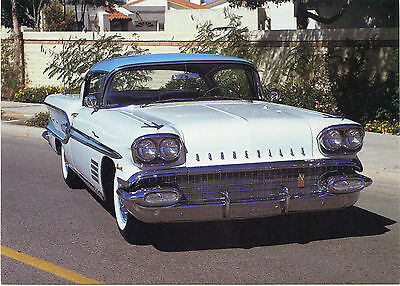 American Automobiles Of The Fifties ~ Pontiac Bonneville.1958