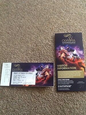Olympia Horse Show Ticket - Mon PM & 2 Nights in a Slough Hotel