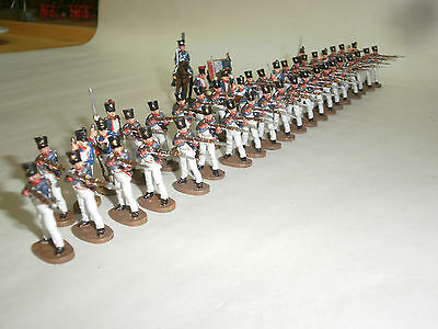 Del Prado Relive Waterloo French Line Regiment Firing / Loading X 47 Figs (2)