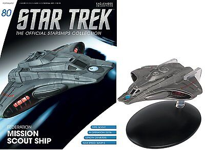 Star Trek The Official Starships Collection Federation Mission Scout Ship #G6