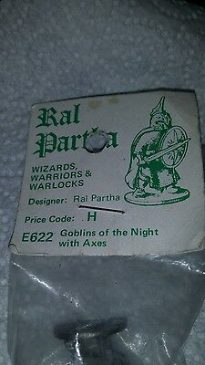 Ral Partha Goblins of the night with axes n.o.s.