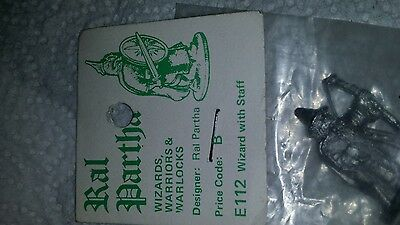 Ral Partha Wizard with Staff new old stock